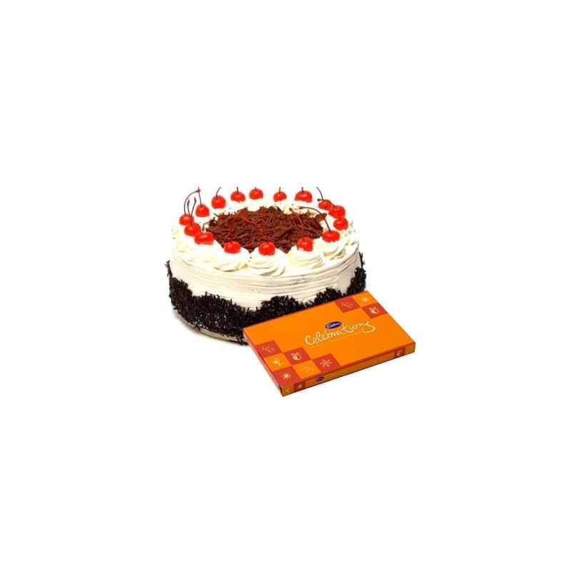 Blackforest Cake n Celebration combo