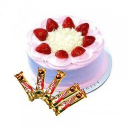 Strawberry Cake n 5star combo