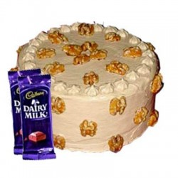 Butterscotch Cake n Dairy milk combo