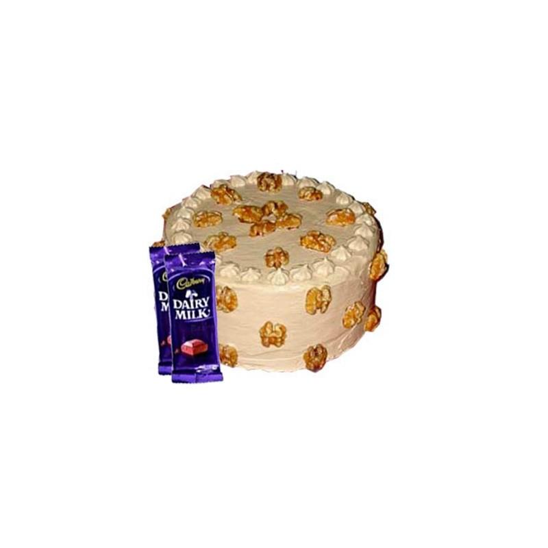 Butterscotch Cake n Dairy milk combo