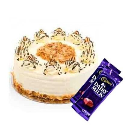 Butterscotch Cake n Dairy milk combo2