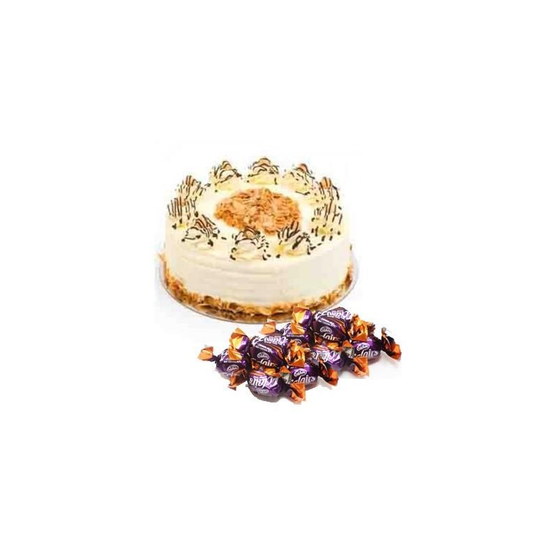 Butterscotch Cake n  25 eclairs combo2