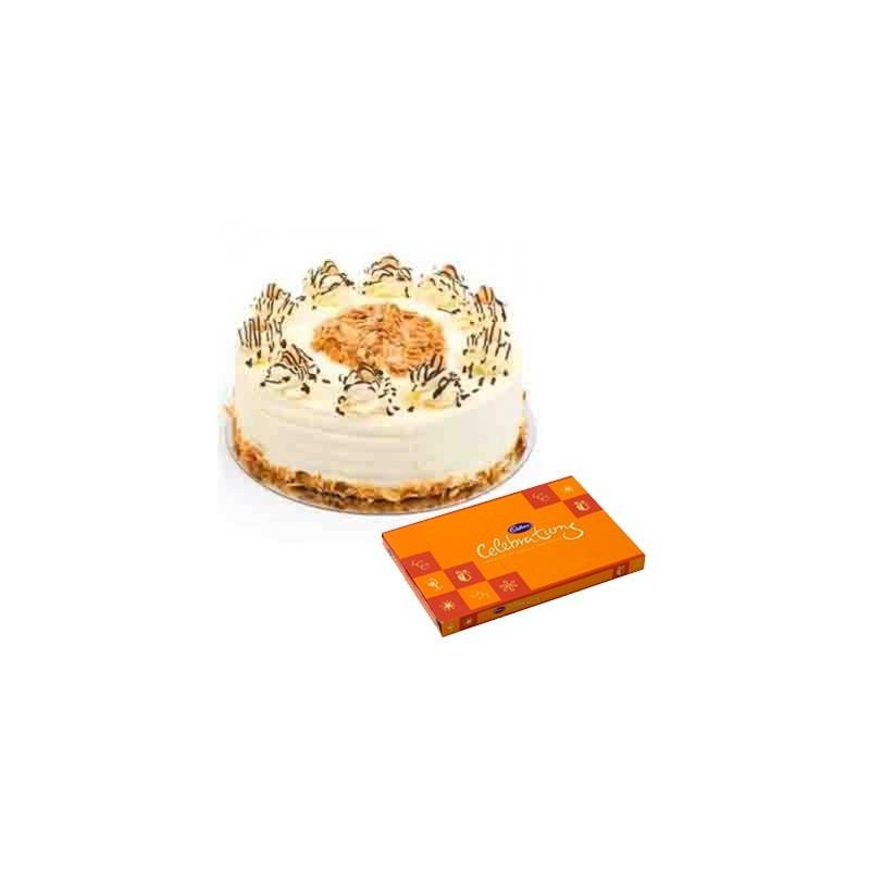 Butterscotch Cake n Celebration combo2