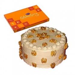 Butterscotch Cake n Celebration combo