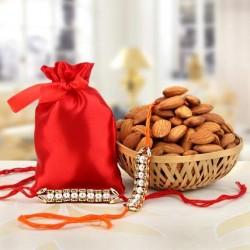 Almond with Rakhi