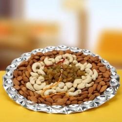 Rakhi with Dryfruits Treat