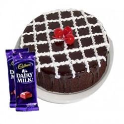 Chocolate Truffle Cake n Dairy milk combo2
