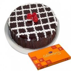 Chocolate Truffle Cake n Celebration combo2