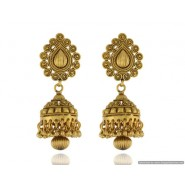 New Fancy Copper Jhumki Earring