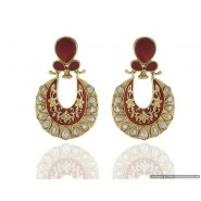 Fashion Copper Chandbali Earring