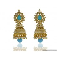 Good Looking Pearl Copper Jhumki Earring