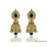 New Fashion Pearl Copper Jhumki Earring