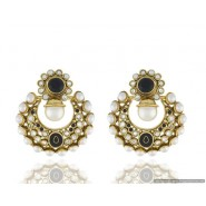 Modren High Quality Pearl Copper Chandbali Earring