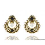 Modren High Quality Pearl Copper Chandbali Earring