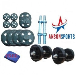 16 kg adjustable rubber dumbells sets stearing cut rubbers for Four man rubber life craft