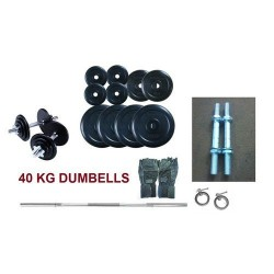 44 Kg Dumbells Sets.Rubber...