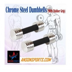 10 Kg Chrome Steel Dumbells...