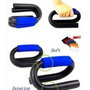 Push Up Bars,Best Pushup Bars Dip Stand S-Shaped Spiral With Soft Grip+W Band
