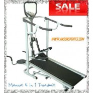 Branded Toppro 4 In 1 Manual Treadmill + Twister + Stepper + Push Up Bars.!!!!
