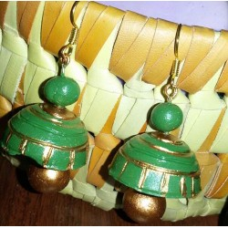 Green n gold terracotta...
