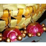Pink n gold hanging