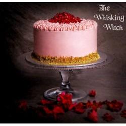 Pistachio & Pomegranate cake