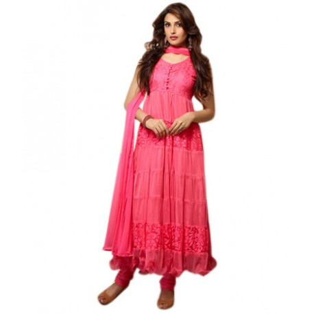 Pink FashionNet Stitched Suit