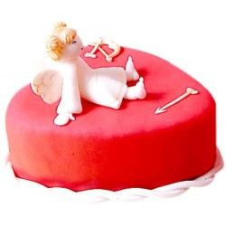Angel Heart Cake 1 KG