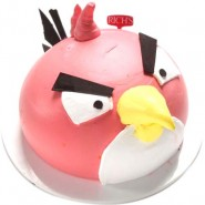 Angry Bird Face Cake 1 KG