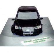 Audi Car Theme Cake 3 KG
