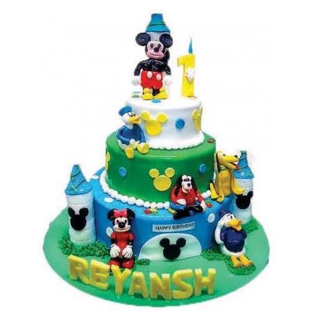 Peachy Disney World Cake Surprise For U Cake Delivery In Ahmedabad Birthday Cards Printable Benkemecafe Filternl