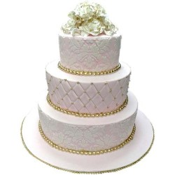 Wedding Cake 3 Tier 7 KG