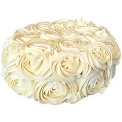 White Rose Cake 1 KG