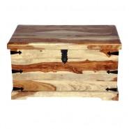 Vintage Trunk Box in Sheesham Wood