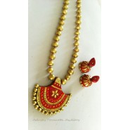 Traditional Terracotta Jewellery Necklace Set