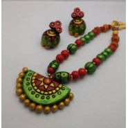 Terracotta Jewellery Necklace Set