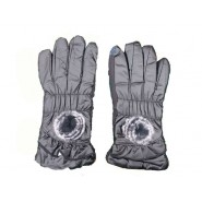 Lether Gloves With Mobile Touch Facility