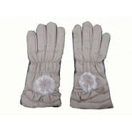 Leather Gloves With Mobile Touch Facility