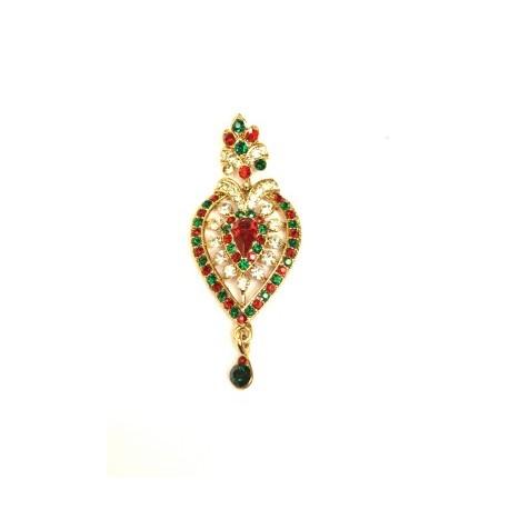 Multi Color Chandelier Earrings