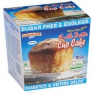 Sugar free Vanilla Cup Cakes-80gm