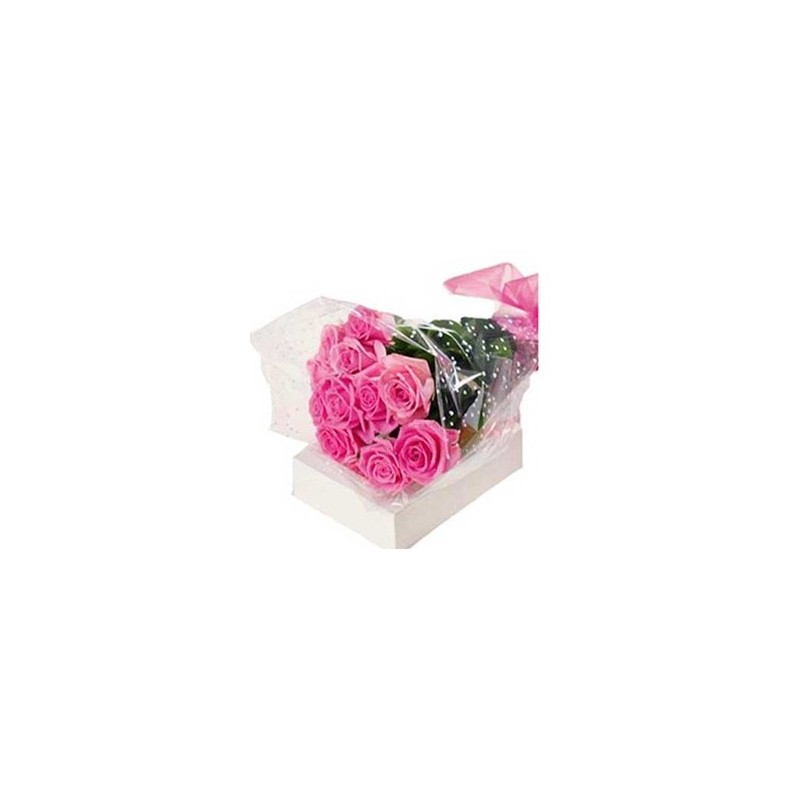 12 pink roses bunch order roses online same day delivery across india 12 pink roses bunch mightylinksfo