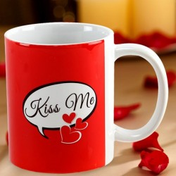 Kiss Day Photo Mug