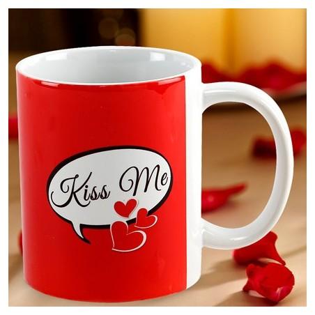 Kiss Day Photo Mug