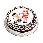 Valentine Photo Cake-1kg