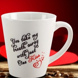 Special Kiss Day Photo Mug