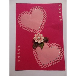Love Floral Card - 4