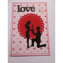 Love proposal card