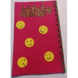 Smiley Birthday card