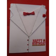 Tuxedo Birthday Card for Him