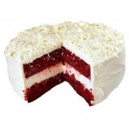 Red Velvet Cake with Cream cheese frosting half Kg